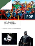 ARTS II_Block 3 Week 5 Review