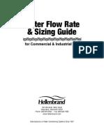 (73-057)WaterFlowRateGuide