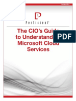 CIO's Guide to Understanding Microsoft Cloud Services