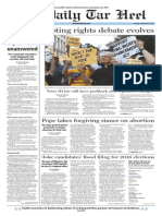 The Daily Tar Heel for Sept. 8, 2015