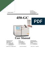 Varian GC450 User Manual English