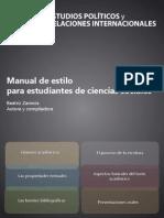 Zamora, Beatriz (2012) - Manual de Estilo Para Estudiantes de Ciencias Sociales. Los Géneros Académicos