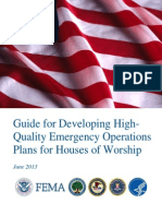 Developing EOPs for Houses of Worship