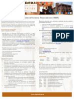 Spanish Business Administration (MBA) Traduccion
