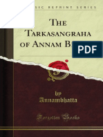 The Tarkasangraha