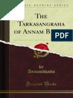 The Tarkasangraha