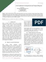 Economical Evaporative Air Conditioner for Equatorial and Tropical Regions