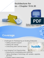 Challenges for Redesigning an Existing Enterprise