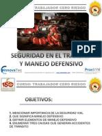 Seguridad en El Transito y Manejo Defensivo