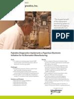 Fujirebio Diagnostics, Inc- A Wonderware Skelta BPM Success Story