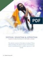 8-Festivals Shivam Shantam Advaitam