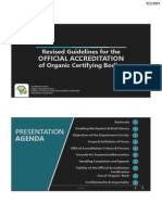 Revised Guidelines for the Official Accreditation of OCB in the Philippines