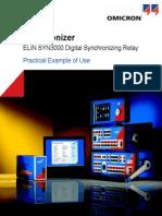 Example Synchronizer SYN3000
