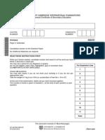 157774 November 2012 Question Paper 31
