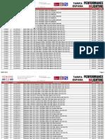 201509 Pil Tarifa General Pvp Septiembre 2015 España