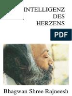 Osho - Bhagwan Shree Rajneesh - Intelligenz Des Herzens (1979, 240 S., Text)