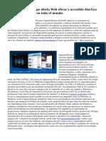Ahora PaginasWeb.pe oferta Web eficaz y accesible diseño servicios a clientes en todo el mundo.