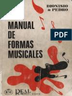 Dionisio de Pedro - Manual de Formas Musicales