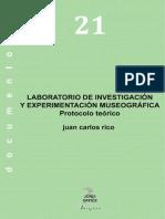 Laboratorio de investigación y experimentación museográfica