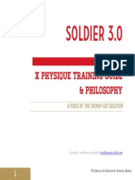 (1) Soldier 3.0 Training