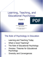 Learning, Teaching, and Educational Psychology