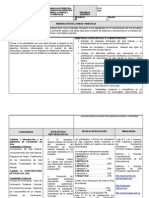 Programa Analitico Final de producción de Gas