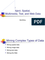 UNIT 4 Mining Object Spatial Multimedia Text and Web Data
