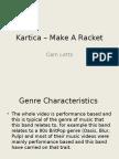Kartica – Make a Racket