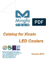 Catalog For Xicato LED Coolers
