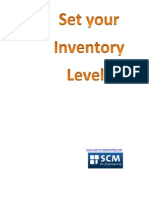 Set Your Inventory Levels