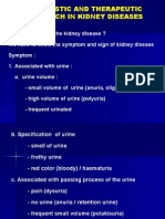Diagnostic and Therapeutic Approach in Kidney Diseases