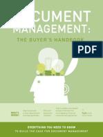 Document Management Buyers Handbook