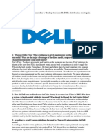DELL Case for Intro to IB