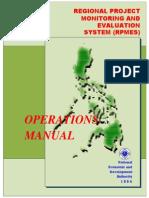 Rpmes Manual
