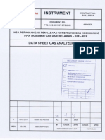 Ptg-kcs 40 -Inst Dts-2002 Data Sheet Gas Analyzers Rev 0 From Ptg