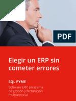 Cómo elegir un software ERP sin cometer errores