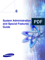 Samsung DCS816 System Administration Manual