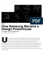 How Samsung Became a Design Powerhouse