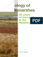 2014 Ecology of Salt Marshes Jan Bakker