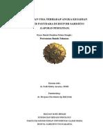 Hubungan Usia Terhadap Angka Kejadian Kanker Payudara Di Rsup Dr Sardjito [Full Text]