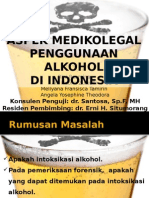 Referat alkoholisme Aspek Medikolegal ppt