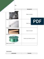 Materiales e Instrumentos