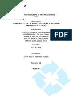 48835541 Desarrollo de La Micro y Pequena Empresa en El Peru (1)
