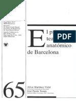 JPardo 1996 El Primitivo Teatro Anatómico de Barcelona