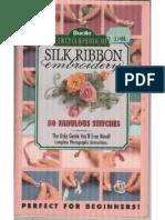bordados com fita de seda