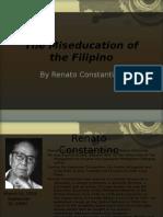 The Miseducation of the Filipino ( By Renato Constantino)