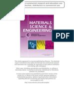 Material Science & Engineering C