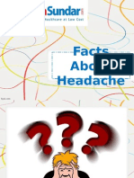 Know The Major Facts About Headache