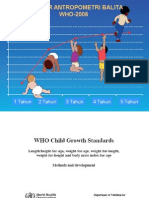 Who2006 Growth Standard