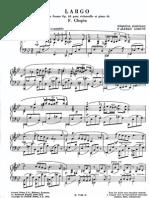 Cortot - Transcription - Chopin - Largo From Cello Sonata Op.65